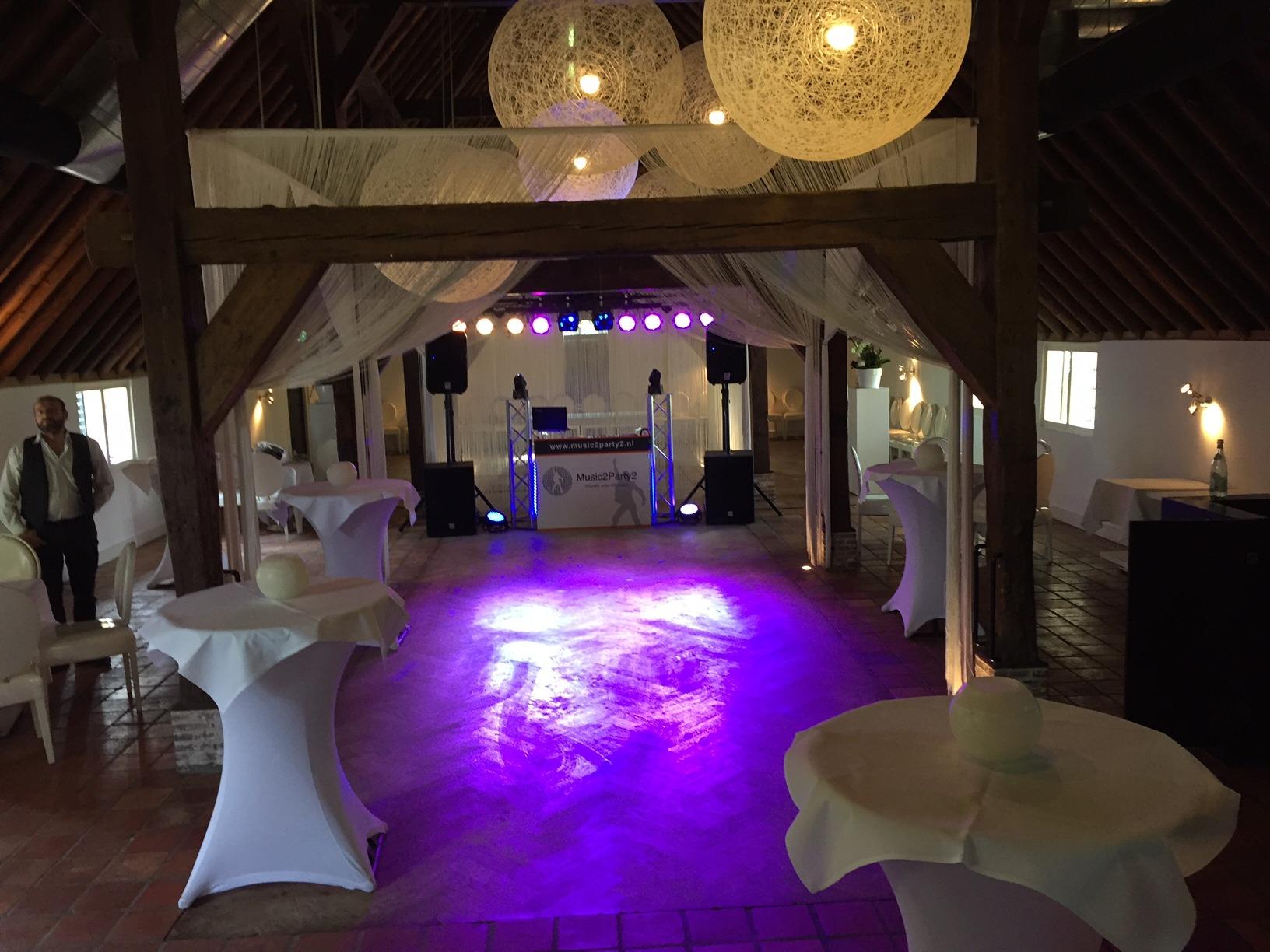 Opstelling familie en vrienden feest in Zoetermeer