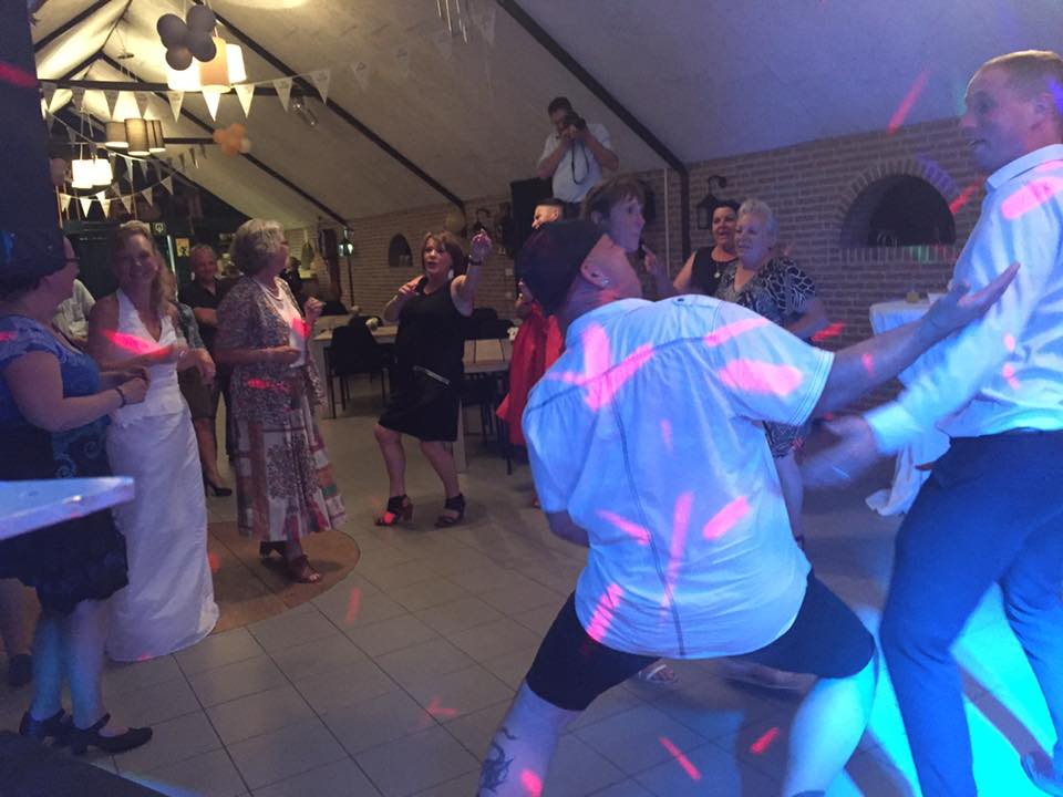Bruiloft in Oosterhout